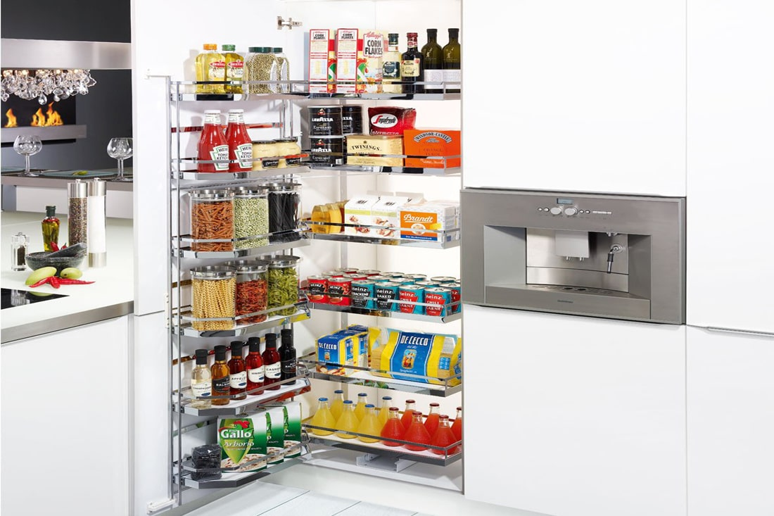 hafele pantry unit