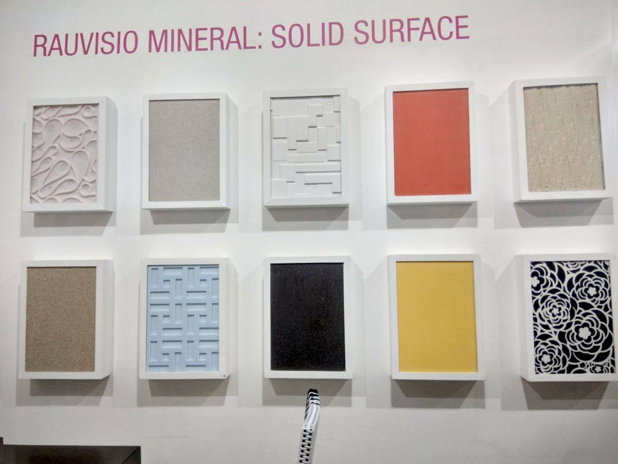 rehau mineral solid surface